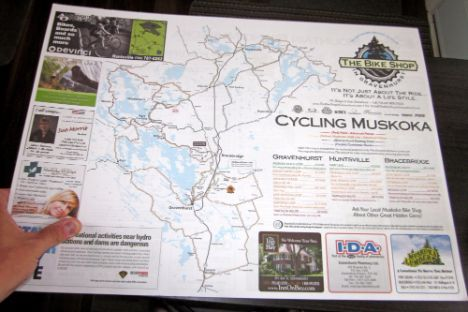 Muskoka Cycling Routes