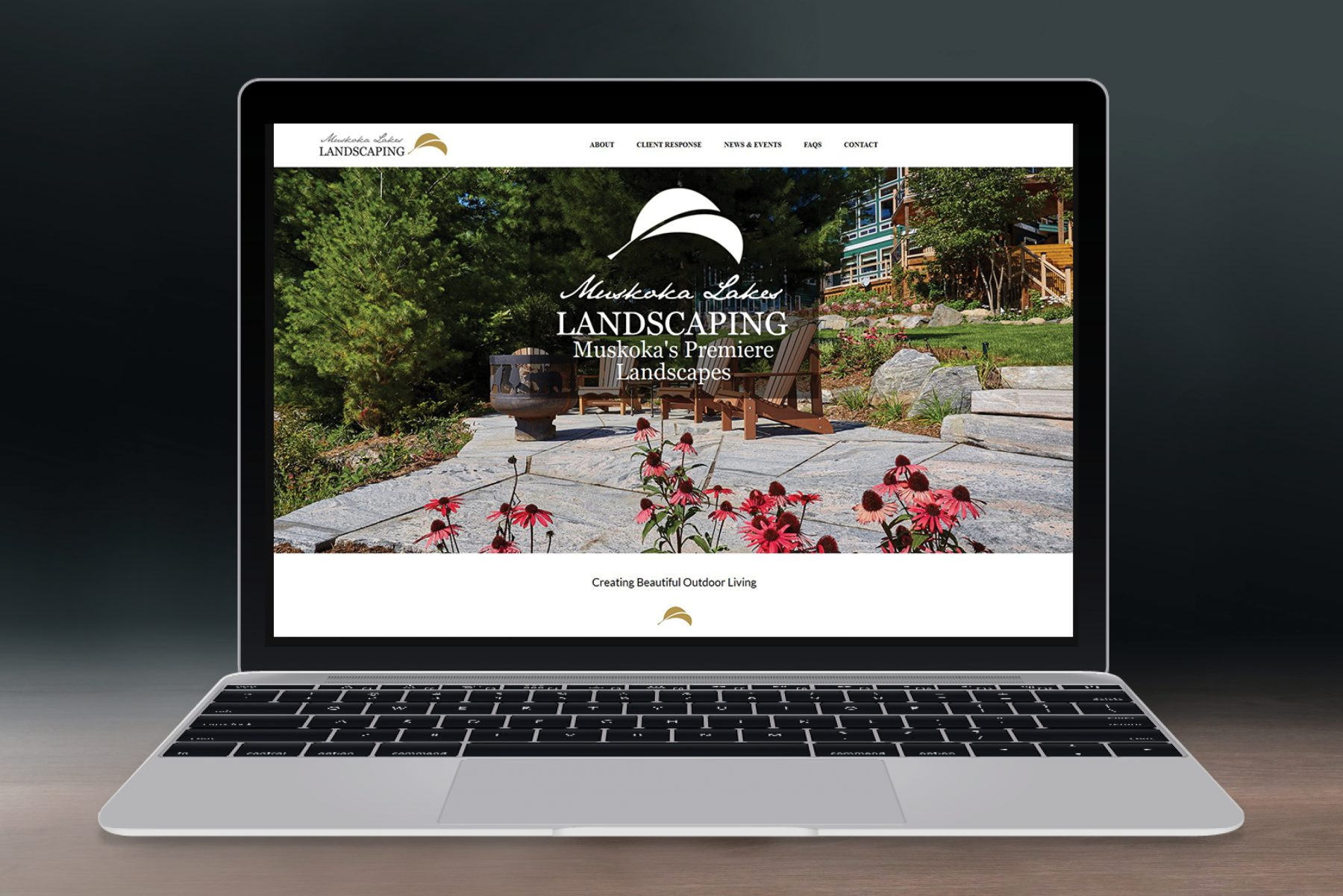 Muskoka Lakes Landscaping Website